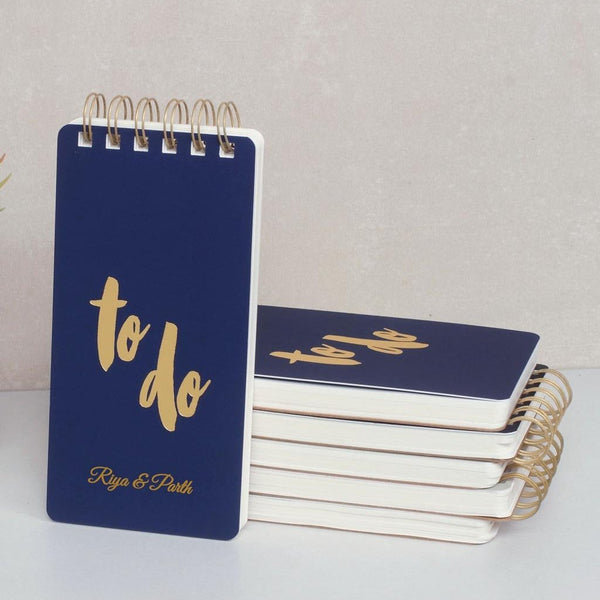 Personalised To Do Notepad - Indigo Blue - C.O.D Not Available-STATIONERY-PropShop24.com