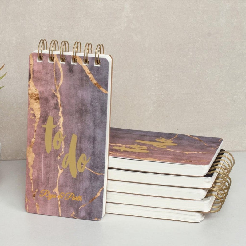 Personalized To Do Notepad - Pastel Marbled - C.O.D Not Available-NOTEBOOKS + PLANNERS-PropShop24.com