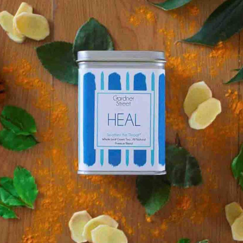 Heal - Green Tea With Tulsi Ginger And Mint - 20 Pyramid Teabags - Each Teabag Makes 2 Cups-DRINKS-PropShop24.com