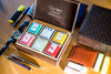 Leather Tea Gift Box - Set Of 6 Premium Flavours-DRINKS-PropShop24.com