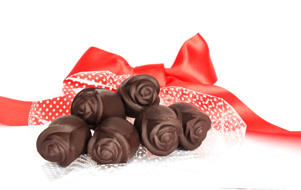 Chocolate Roses-Pack Of 6-FOOD-PropShop24.com