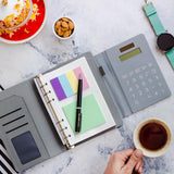 Solar Calculator Diary - Grey-STATIONERY-PropShop24.com