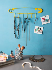 Safety Pin Hanger - Yellow-HOME-PropShop24.com