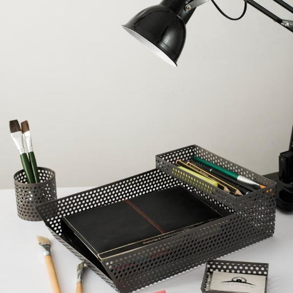 Desk Organizer - Grey-STATIONERY-PropShop24.com