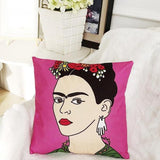 Frida Kahlo Print Cushion Cover-HOME-PropShop24.com