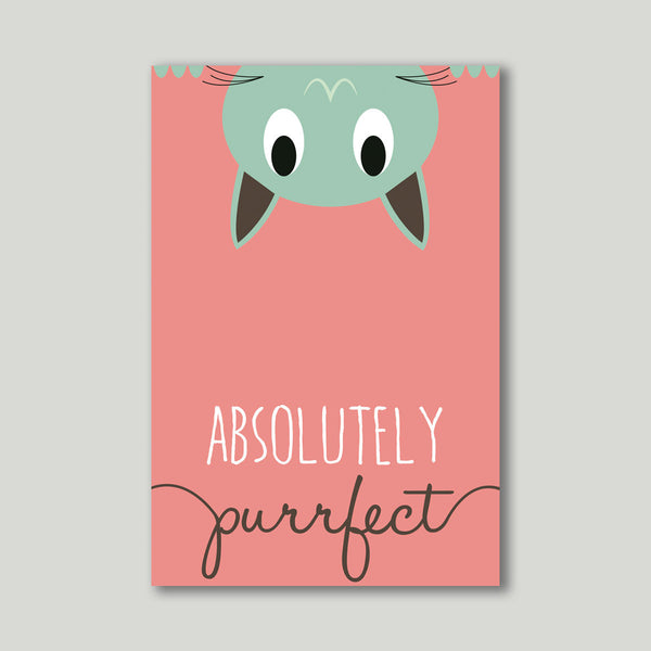 Art Print - Absolutely Purrfect - propshop-24 - 1
