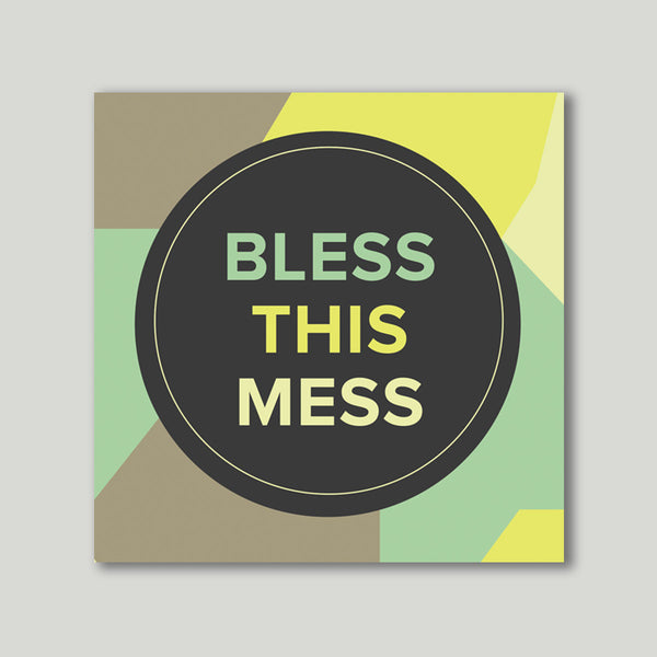 Art Print - Bless this mess - propshop-24 - 1
