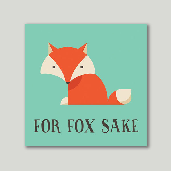 Art Print - For Fox Sake - propshop-24 - 1