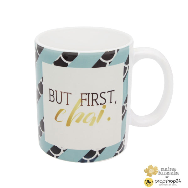 Coffee Mug - But First, Chai - propshop-24 - 1