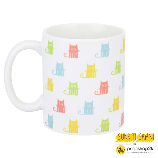 Coffee Mug - Colourful Cats - propshop-24 - 1