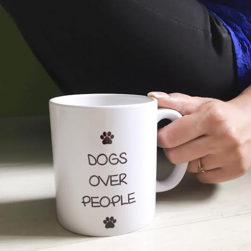 Coffee Mug - Dogs Over People-DINING + KITCHEN-PropShop24.com