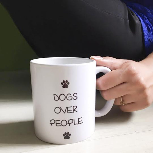 Coffee Mug - Dogs Over People - propshop-24 - 1