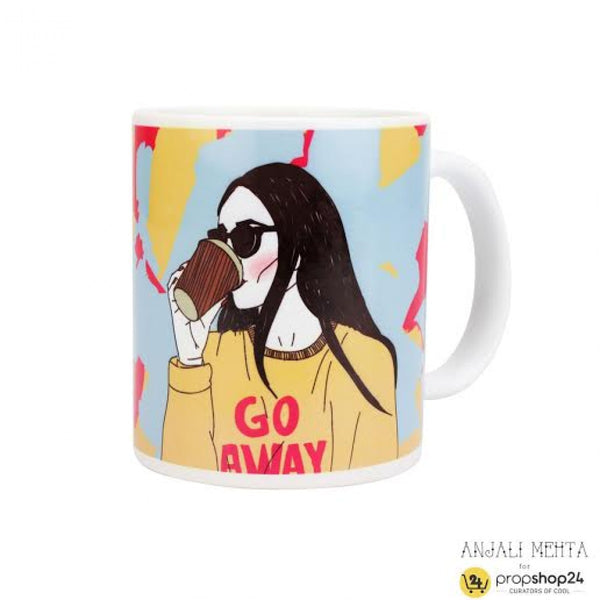 Coffee Mug - Go Away - propshop-24 - 1
