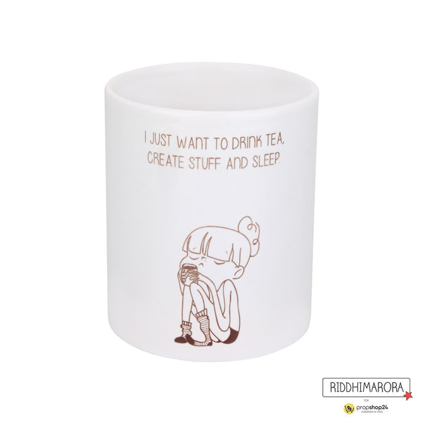 Coffee Mug - I Just Want To Drink Tea - propshop-24 - 1