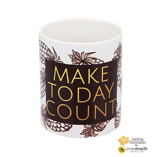 Coffee Mug - Make Today Count - propshop-24 - 1