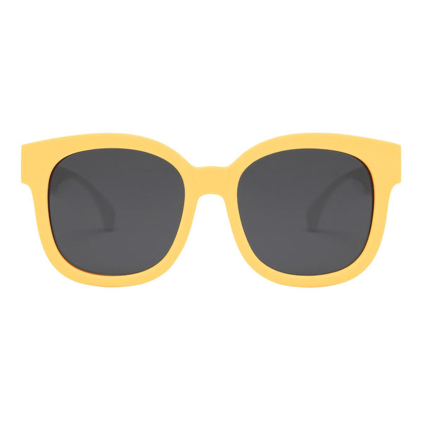 Can Dee Square Yellow White Sunglasses - propshop-24 - 1