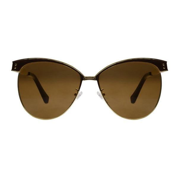 Futura Brown Gold Sunglasses - propshop-24 - 1