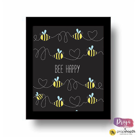 Frame - Bee Happy - propshop-24