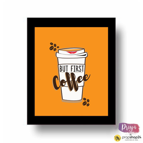 Frame - Coffee First - propshop-24