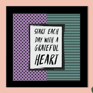 Frame - Grateful Heart-HOME ACCESSORIES-PropShop24.com