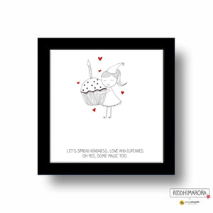 Frame - Let'S Spread Kindness-HOME ACCESSORIES-PropShop24.com