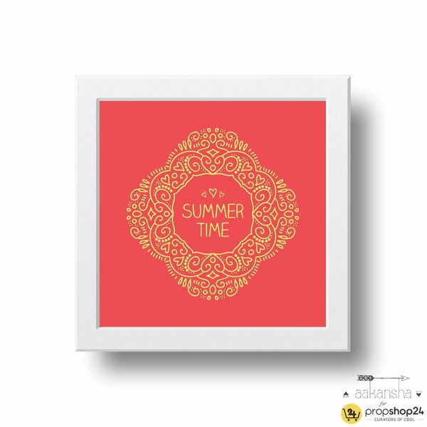 Frame - Summer Time-HOME ACCESSORIES-PropShop24.com