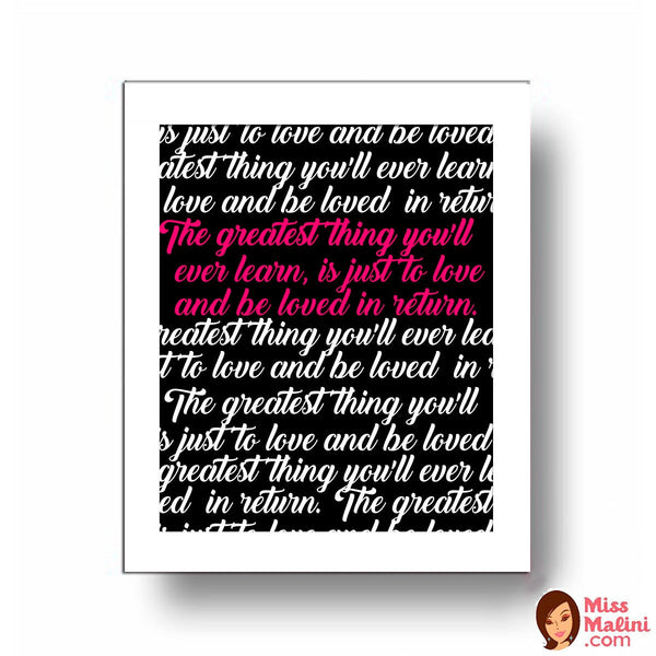 Frame - The Greatest Love - propshop-24