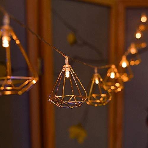 String Lights - Diamond - Warm White-HOME ACCESSORIES-PropShop24.com