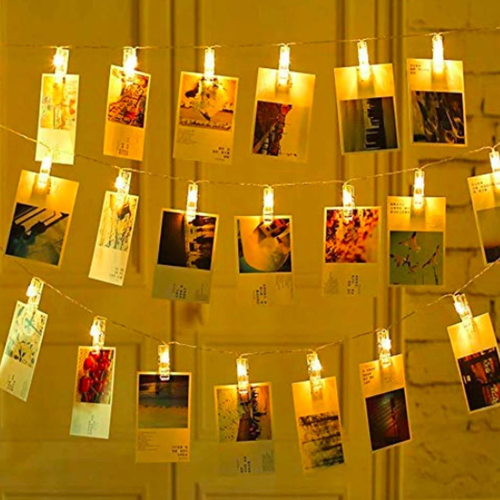Photoclip String Lights - 20 Clips-HOME ACCESSORIES-PropShop24.com