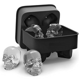 Ice Tray - Black Skull-DINING + KITCHEN-PropShop24.com