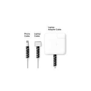 Spiral Cable And Wire Protector - Set Of 4 - Assorted-GADGET ACCESSORIES-PropShop24.com