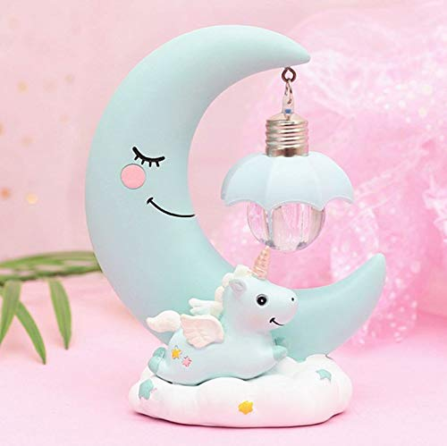 LED Night Lamp - Moon and Unicorn-HOME ACCESSORIES-PropShop24.com