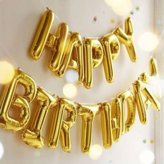 Foil Balloons - Happy Birthday-BAR + PARTY-PropShop24.com