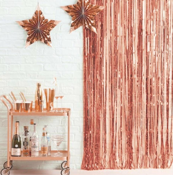 Shimmer Backdrop Curtains - Sold Individually-BAR + PARTY-PropShop24.com