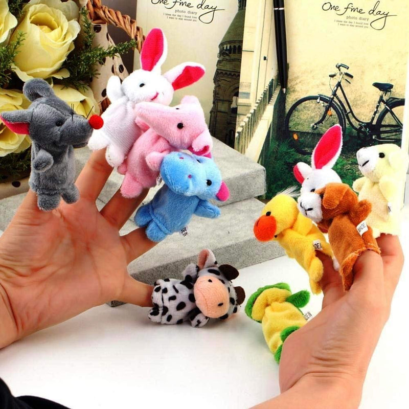 Finger Puppet - Set Of 10-PropShop24.com