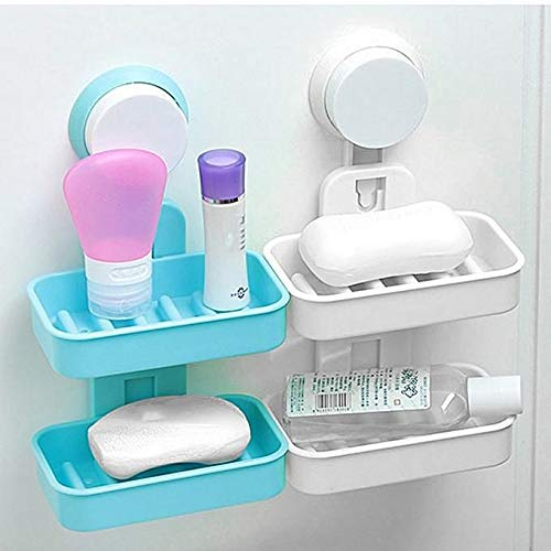 Soap Tray - Double Layer-ORGANIZERS + STORAGE-PropShop24.com