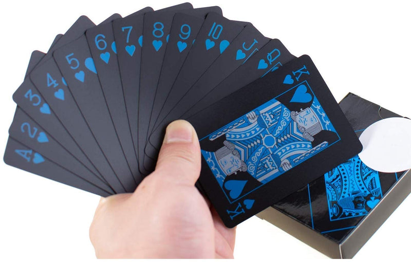 Playing Cards - Black-BAR + PARTY-PropShop24.com