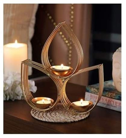 Decorative Table Top Tea Light Holder-CANDLES + AROMA-PropShop24.com
