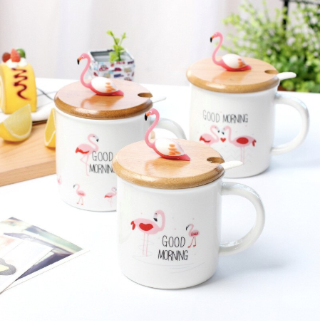 Coffee Mug - Flamingo-DINING + KITCHEN-PropShop24.com