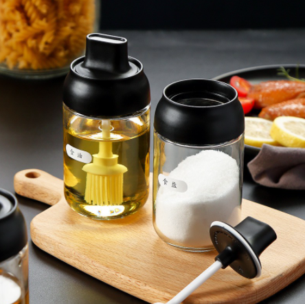 Glass Seasoning Bottle-DINING + KITCHEN-PropShop24.com