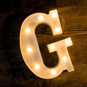 Marquee Light - Alphabet-HOME ACCESSORIES-PropShop24.com