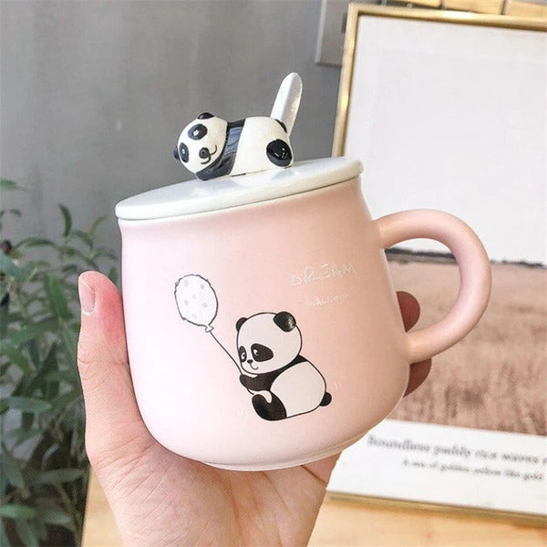 Panda Ceramic Mug - Single Piece-DINING + KITCHEN-PropShop24.com