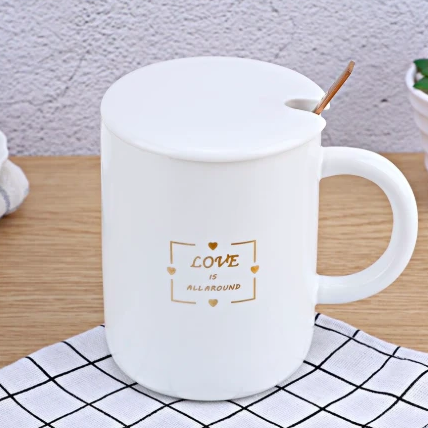 Coffee Mug - Love Is All Around-DINING + KITCHEN-PropShop24.com