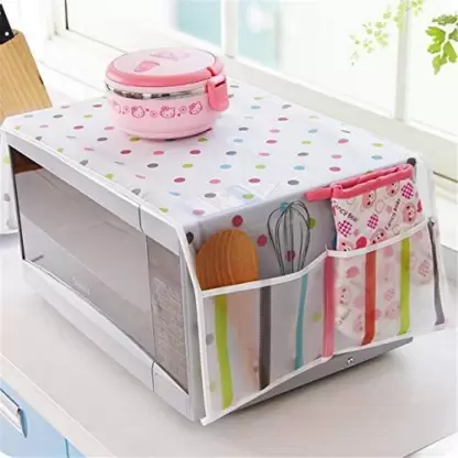 Microwave Cover - Single Piece-DINING + KITCHEN-PropShop24.com