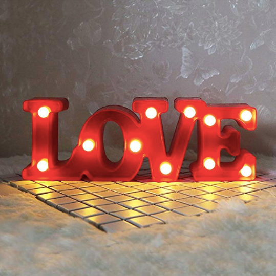 Marquee Light - Love-HOME ACCESSORIES-PropShop24.com