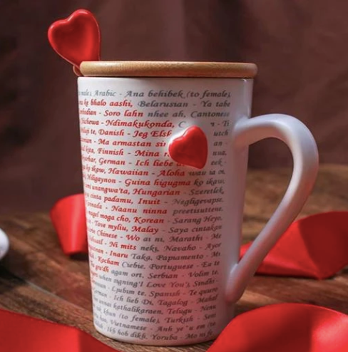 Coffee Mug - Love You In 100 Different Languages-DINING + KITCHEN-PropShop24.com