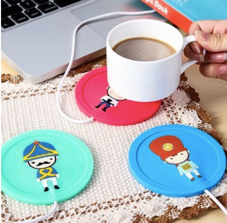 Silicone USB Coffee Mug Warmer-GADGET ACCESSORIES-PropShop24.com