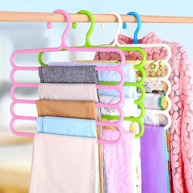 Plastic Hangers - Set Of 2 - Assorted-HOME ACCESSORIES-PropShop24.com