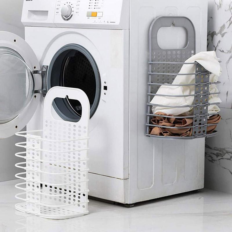 Laundry Basket - Wall Mounted-HOME ACCESSORIES-PropShop24.com