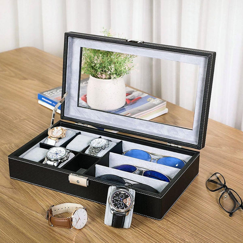 Sunglass And Watch Organizer Box-ORGANIZERS + STORAGE-PropShop24.com